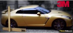 Vinil Ouro Escovado 3M Scotchprint 1080 BR241